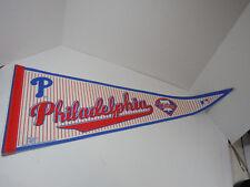 2005 WINCRAFT SPORTS MLB BASEBALL TEAM PHILADELPHIA PHILLIES FELT PENNANT BANNER