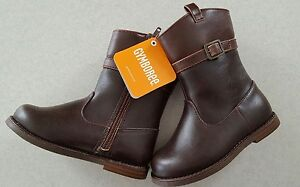 NEW Gymboree Girls SIZE 7 Riding Boots BROWN Horse FALL Back to Blooms  #762317
