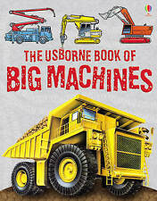 The Usborne Book of Big Machines-ExLibrary