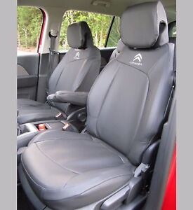 Citroen C4 Grand Picasso 2013+ Tailored Tough Waterproof Charcoal Seat Covers