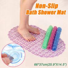 PVC Rug Anti Skid Suction Cup Grip Shower Mat Home Bathroom Non-Slip Bath Tub US