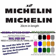 Michelin vintage decal x2