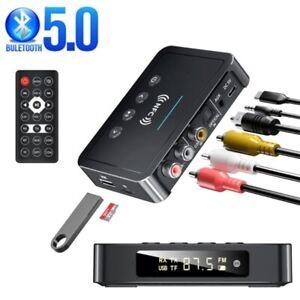M6 NFC Bluetooth 5.0 Empfänger 3,5 mm AUX HiFi Stereo Audio Adapter Lautsprecher