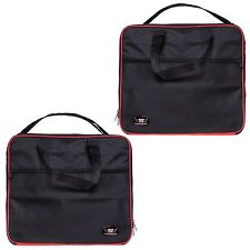 PANNIER LINER INNER BAGS FOR BMW R1200GS & F800GS ADVENTURE IN RED & BLACK CLR