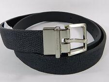 Calvin Klein Metallic Lizard Belt Black, M