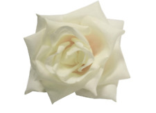 Collectif Large Ivory Vintage Style Rose Hair Clip Retro Pin-up