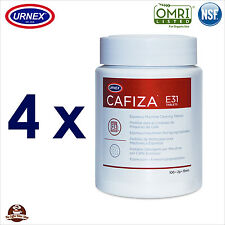 4 x Espresso Coffee Machine Cleaner Cleaning Tablets (200) Replaces Cino Cleano