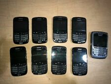 Mixed Lot Of 9 Blackberry Curve & Cingular Phones 9300 8520 9360 8700