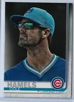 2019 Topps Series 2 Baseball Short Print Variation Cole Hamels #540 Chicago Cubs
