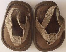 90af217f8bb5b KIDS AIRWALK Brown Leather Sandals Size 2W Very Good Condition!