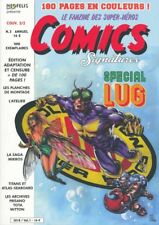 COMICS SIGNATURES n°3 Special LUG MARVEL Strange (Couv. 2 -2018) Mikros
