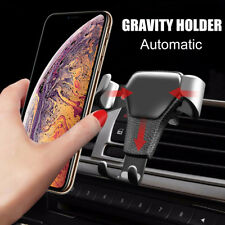 Universal Car Air Vent Mount Phone Gravity Holder For GPS iPhone XS Max Samsung