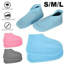 Waterproof Shoe Covers Reusable Silicone Overshoes Rain Boot Cover Protector US
