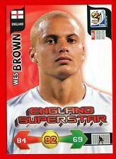 SOUTH AFRICA 2010 - Adrenalyn Panini - Card ENGLAND SUPERSTAR - BROWN