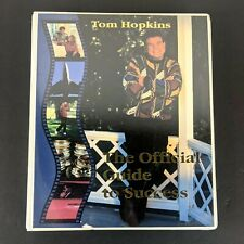 The Official Guide to Success By Tom Hopkins Audio Book on Cassette Tape Rare