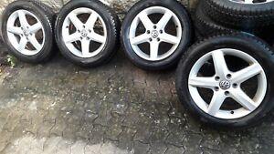 VW Golf 7,Alu Winterkompletträder ,Pirelli Winter. 205/55 R16,91 V, ET45 (20)