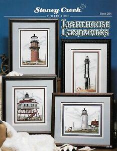 Lighthouse Landmarks BK254 by Stoney Creek cross stitch pattern