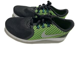 Nike Running Shoes Youth Size 7 Velocity Green / Black / Teal - New w/o Tags