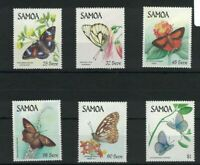 SAM14) Samoa 1986 Butterflies MUH