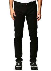 AX Armani Exchange - Pantaloni Uomo Nero Slim Fit