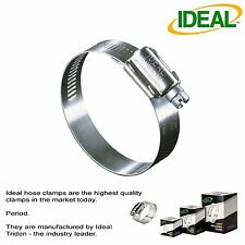 """IDEAL Box of 10 Tridon Hose Clamps Size #24 / 25 - 51mm 1"""" - 2"""""""