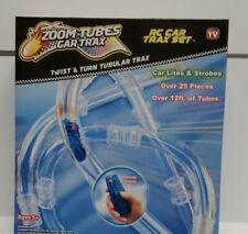 Zoom Tubes Car Trax Over 25 Pieces ,12ft  Of Tubes RC AS SEEN ON TV