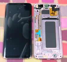 GENUINE PINK SAMSUNG SM-G955F GALAXY S8 PLUS SCREEN AMOLED 2k LCD FRAME DISPLAY