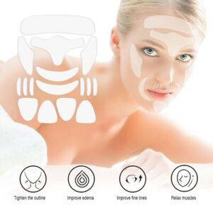 16x Reusable Silicone Anti Wrinkle Face Furrow Forehead Eye Pads Patches Kits