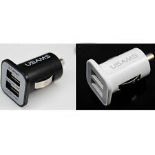 Rapid Dual USB Car Charger 2.1A & 1A Output iPhone 6 6 Plus 5S 5C 5 4S 4 & iPads