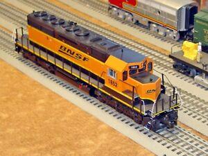 Mysterious! MTH BNSF SD40-2 NON-POWERED DIESEL ENGINE DUMMY O Gauge Locomotive