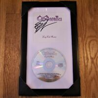 CINDERELLA Signed Autographed Long Cold Winter CD Display - FRAMED & MATTED
