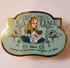 DISNEY PIN ALICE IN WONDERLAND GRAND FLORIDIAN RESORT AND SPA TEA TIME