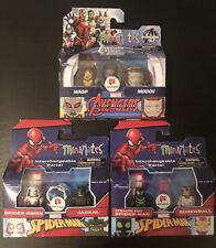 Marvel Minimates Walgreen's Spider-Gwen, Jackal, Stealth Suit, Screwball, Etc.