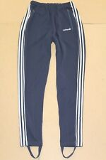 ADIDAS 80'S VINTAGE FIRST EUROPA RUNNING TRACKSUIT BOTTOMS,RETRO,D9,SIZE:LARGE