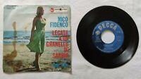 """NICO FIDENCO 7"""" LEGATA A UN GRANELLO DI 45 GIRI ITALY 1962 RCA PM451166 NM/VG+"""