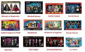 DC Comics Bendable Figure Box Set Superman Batman Wonder Woman Justice League