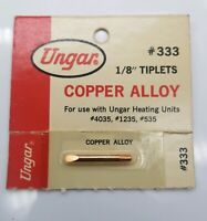 "Ungar-331 cadmium copper pencil tip 1//8/"" thread-in Soldering Tip QUANTITY 1 TIP"
