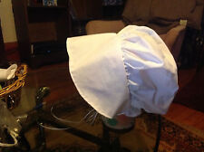 bonnet pilgrim prarie colonial white black brown blue green red burgundy  checke