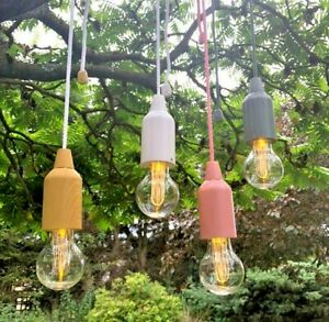 Retro Style Hanging Bulb Fairy Cord String LED Lights Garden Wedding Decorations