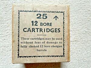 Vintage 12 Gauge Cartridge Box (empty).  Possibly Eley.