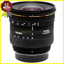 Obiettivo Sigma AF 10-20 mm f4-5,6 DC per fotocamere digitali reflex Pentax