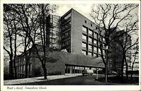 Marl in Westfalen Ansichtskarte 1957 Partie an der Paracelsus Klinik VW Bully