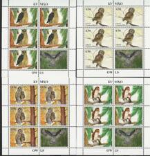 Tajikistan 2019 MNH** Mi.839-42 A KB Owls Eulen Set