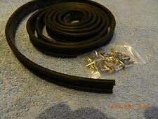 Fordson Major Bonnet Rubber and Bufurcated Rivets. New.