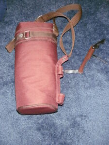 Pacific Time wine sack insulated single bottle wine duffle