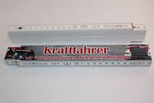 Berufe Zollstock  - KRAFTFAHRER 2  2m  Holz