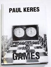PAUL KERES. PHOTOGRAPHS AND GAMES - chess champion, Estonia 1995