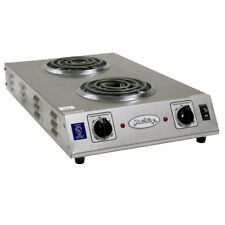Broil King CDR-1TFBB Professional Double Space Saver Hot Plate, Gray
