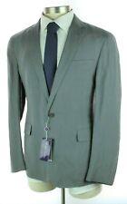 NWT $1895 RALPH LAUREN PURPLE LABEL Hadley Grey Slub Silk Linen Coat Jacket 42 R