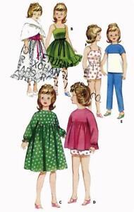 Doll Clothes Pattern 3351Tammy Misty Suzie Honey West Miss Clairol Jan Terry